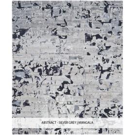 VARTIAN - ABSTRACT SILVER GREY CARPET
