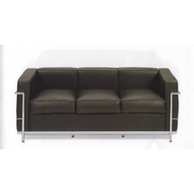 TEKNO - 016/3 LE CORBUSIER 3 SEATER SOFA